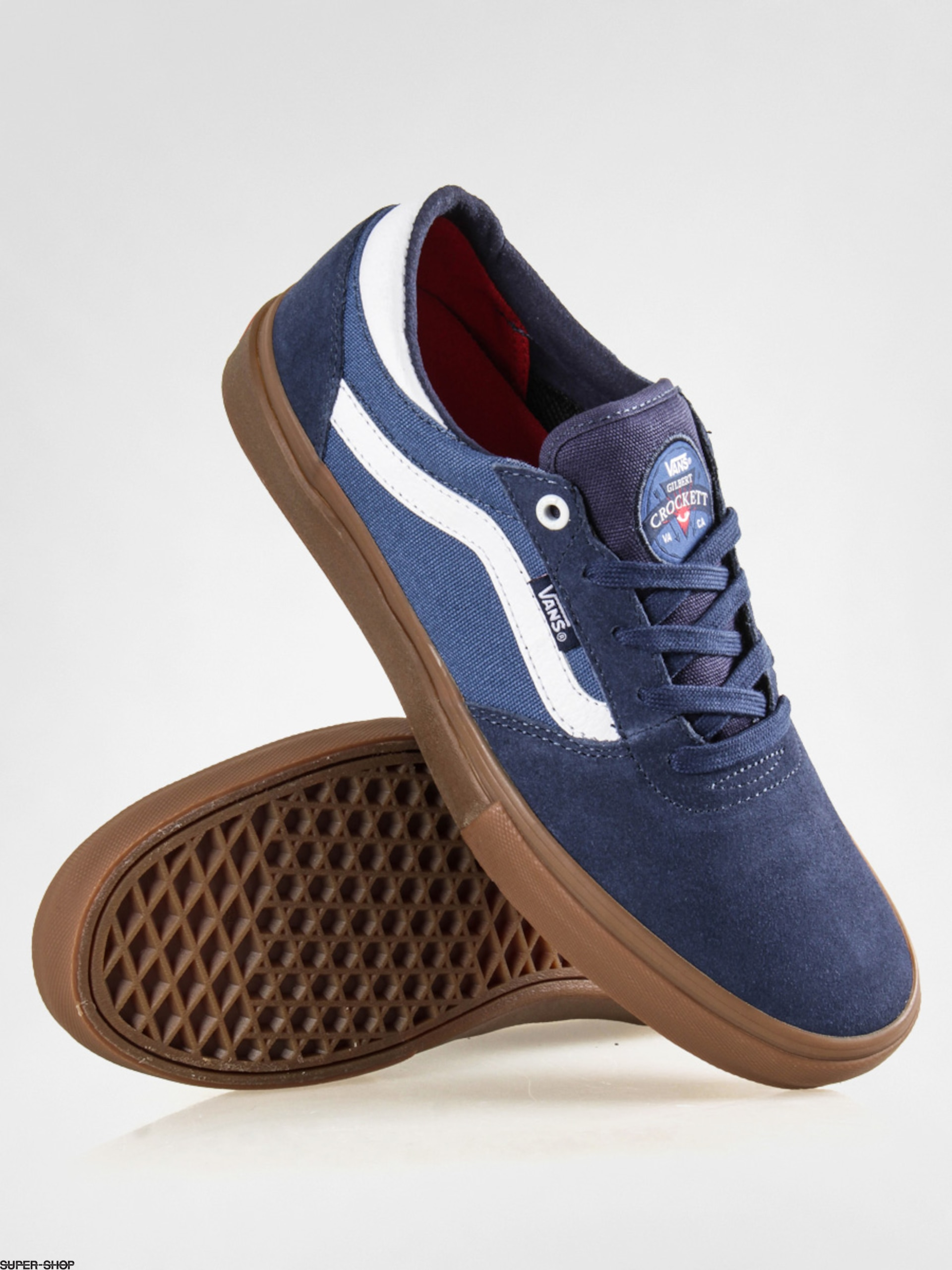 vans gilbert crockett blue