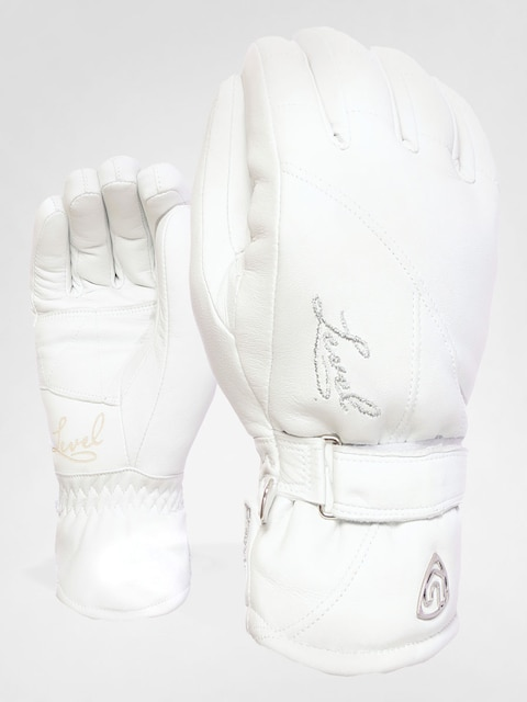 Level Gloves Classic Wmn (wht)
