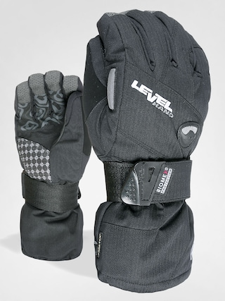 Level Gloves Half Pipe Gore Tex (blk)