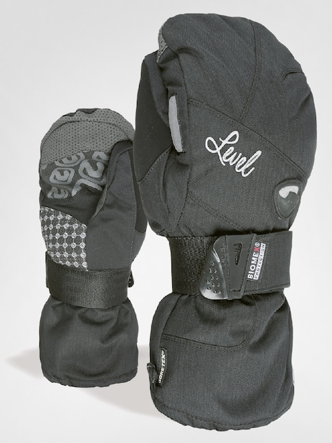 Level Gloves Half Pipe W Mitt Gore Wmn (blk)
