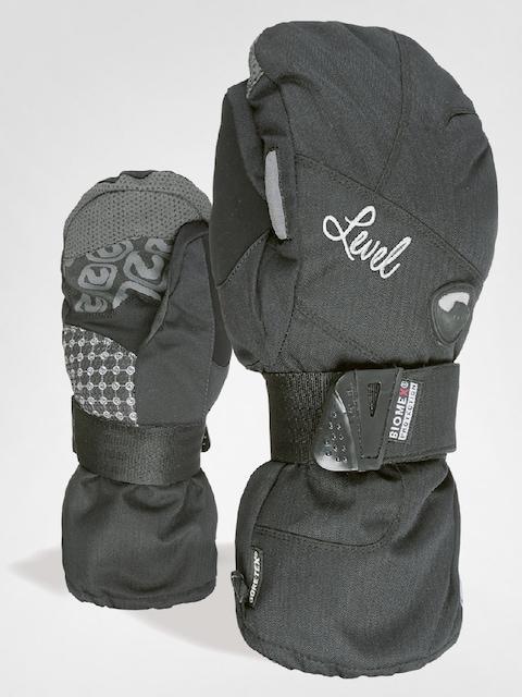 Level Handschuhe Half Pipe W Mitt Gore Wmn (blk)