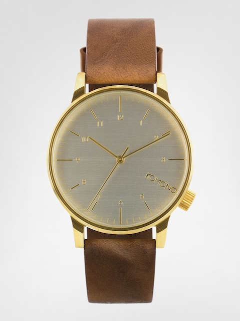 Komono Uhr Winston Regal (saddle brown)