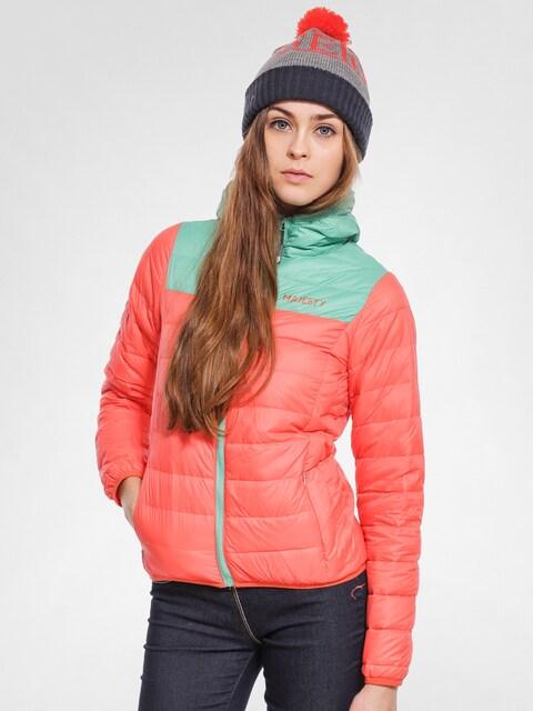Majesty Snowboard jacket Asgaard Down Wmn (orange/mint)