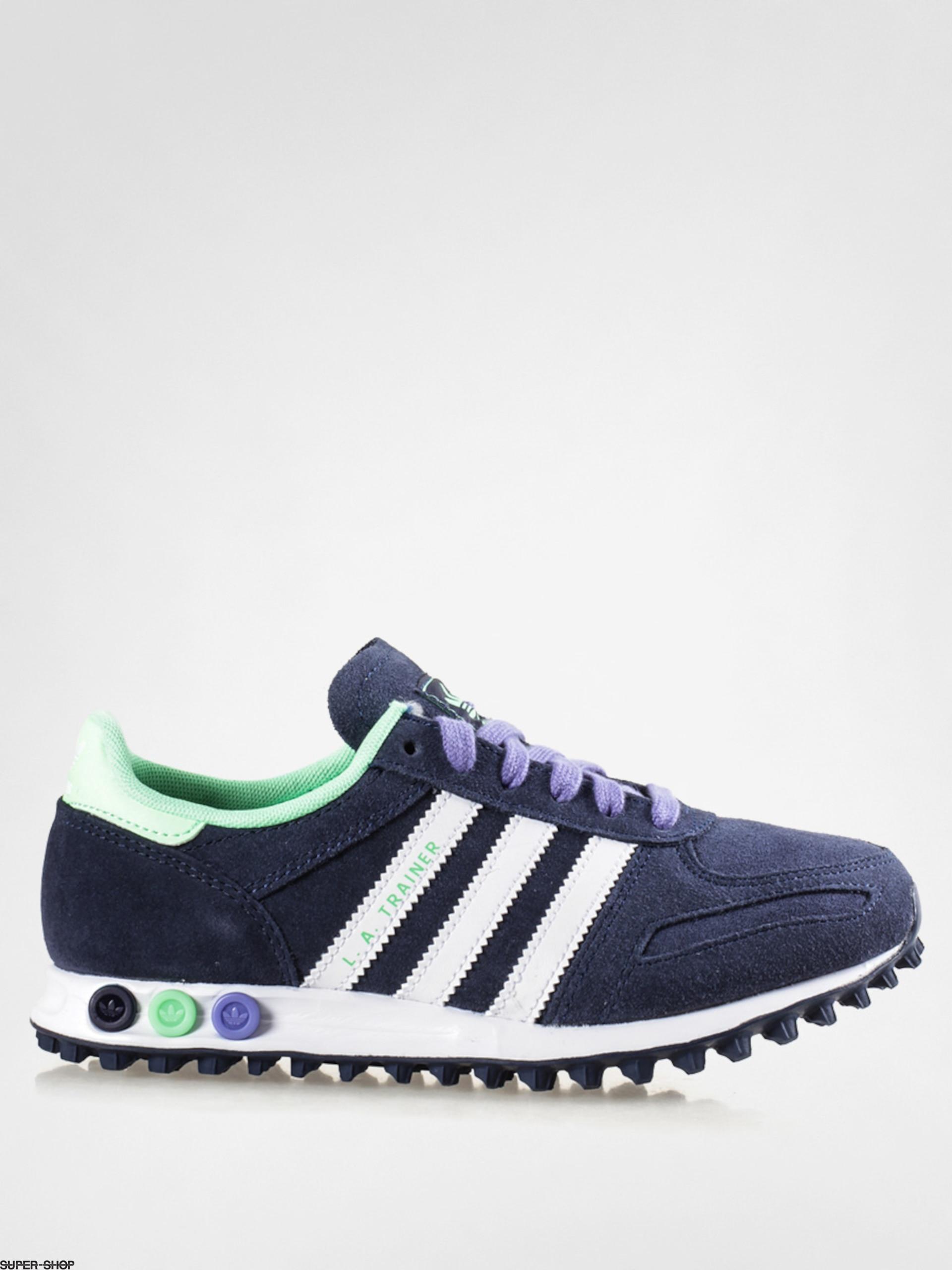 jardín Por favor mira cosa  adidas Shoes La Trainer W Wmn (conavy/ftwwht/ltflgr)