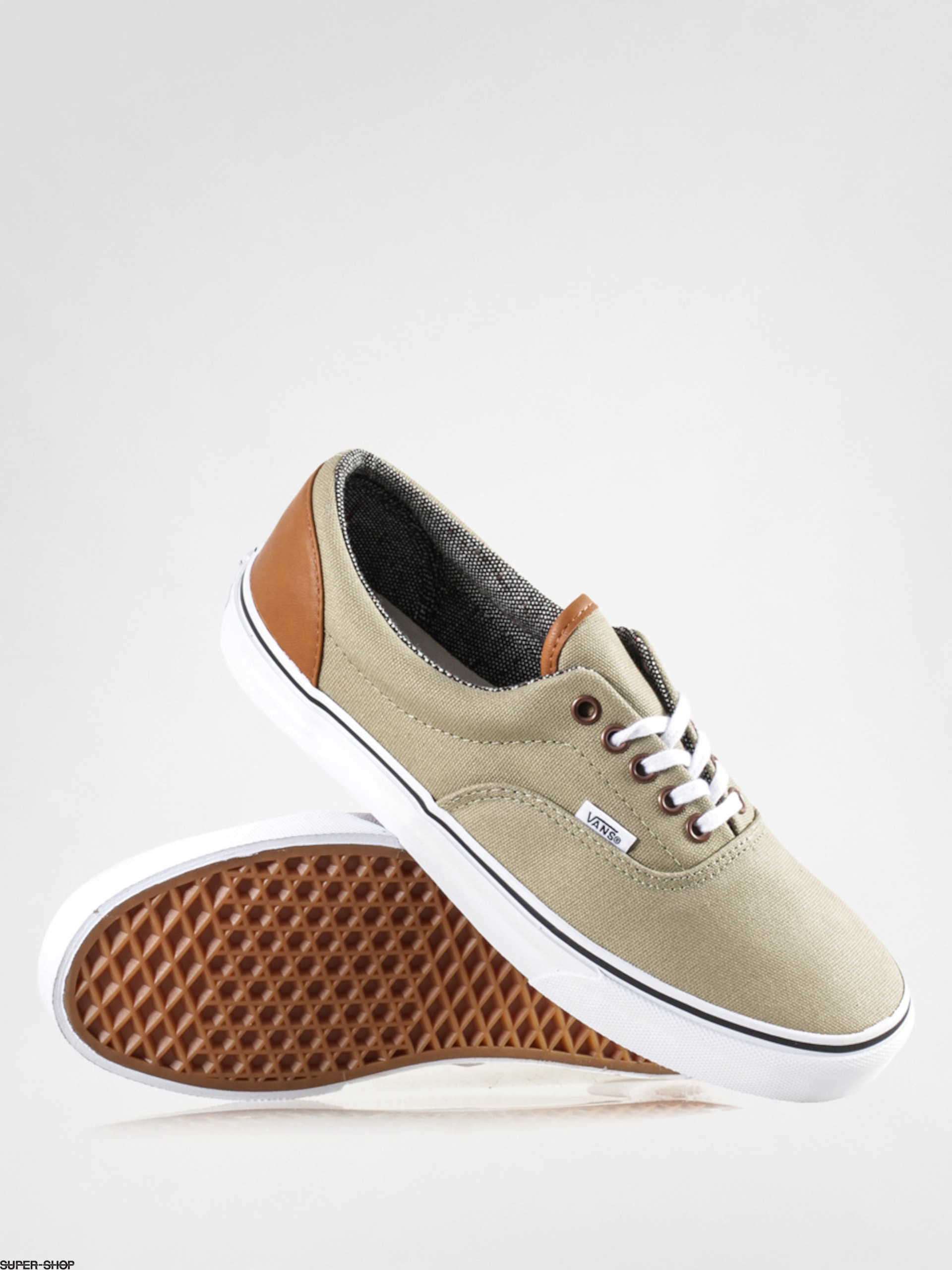7ea9a6da94 Vans Shoes Era (c l light khaki tweed)