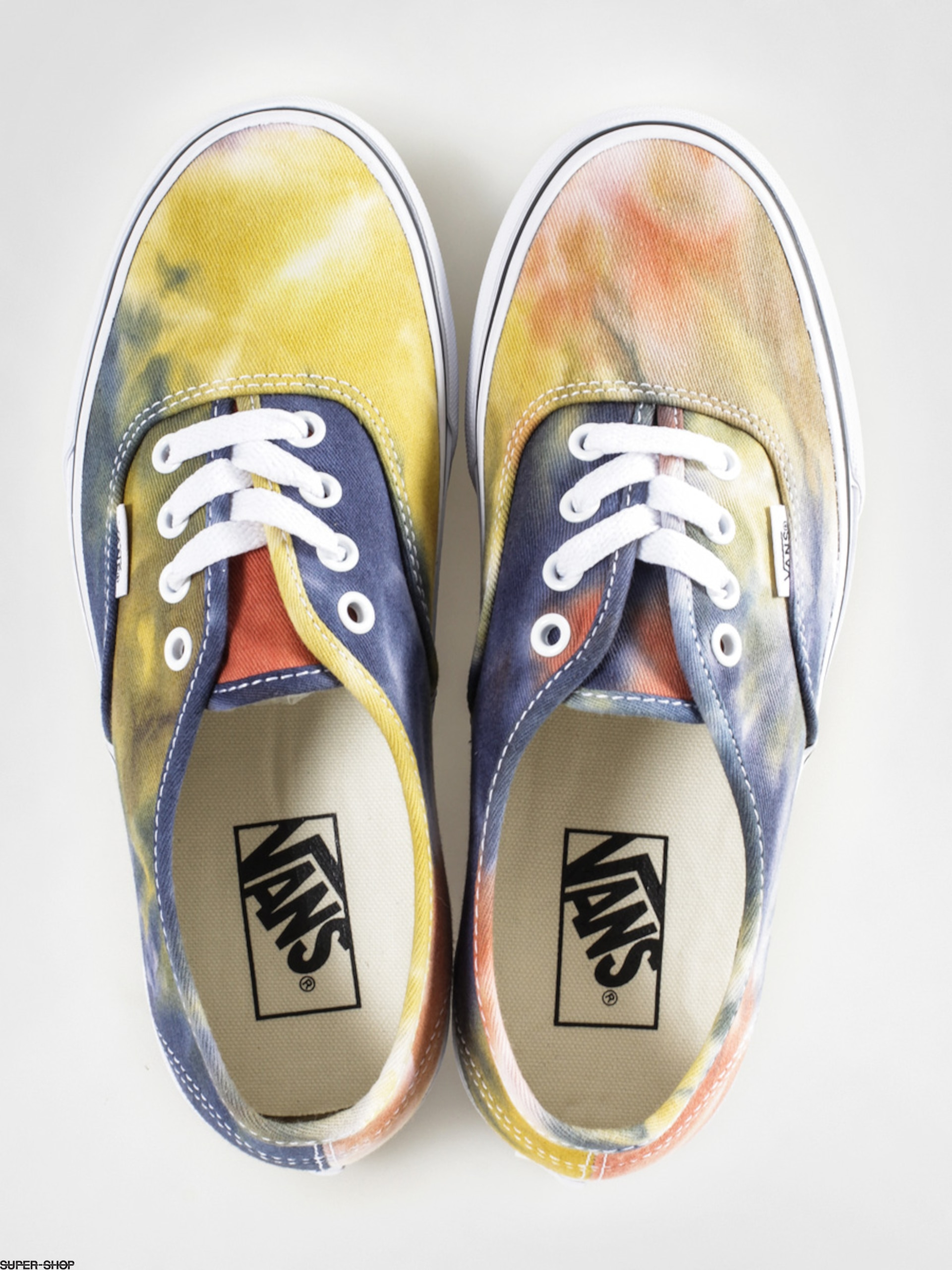c25d0e6c21dceb Vans Shoes Authentic (tie dye navy burnt orange)