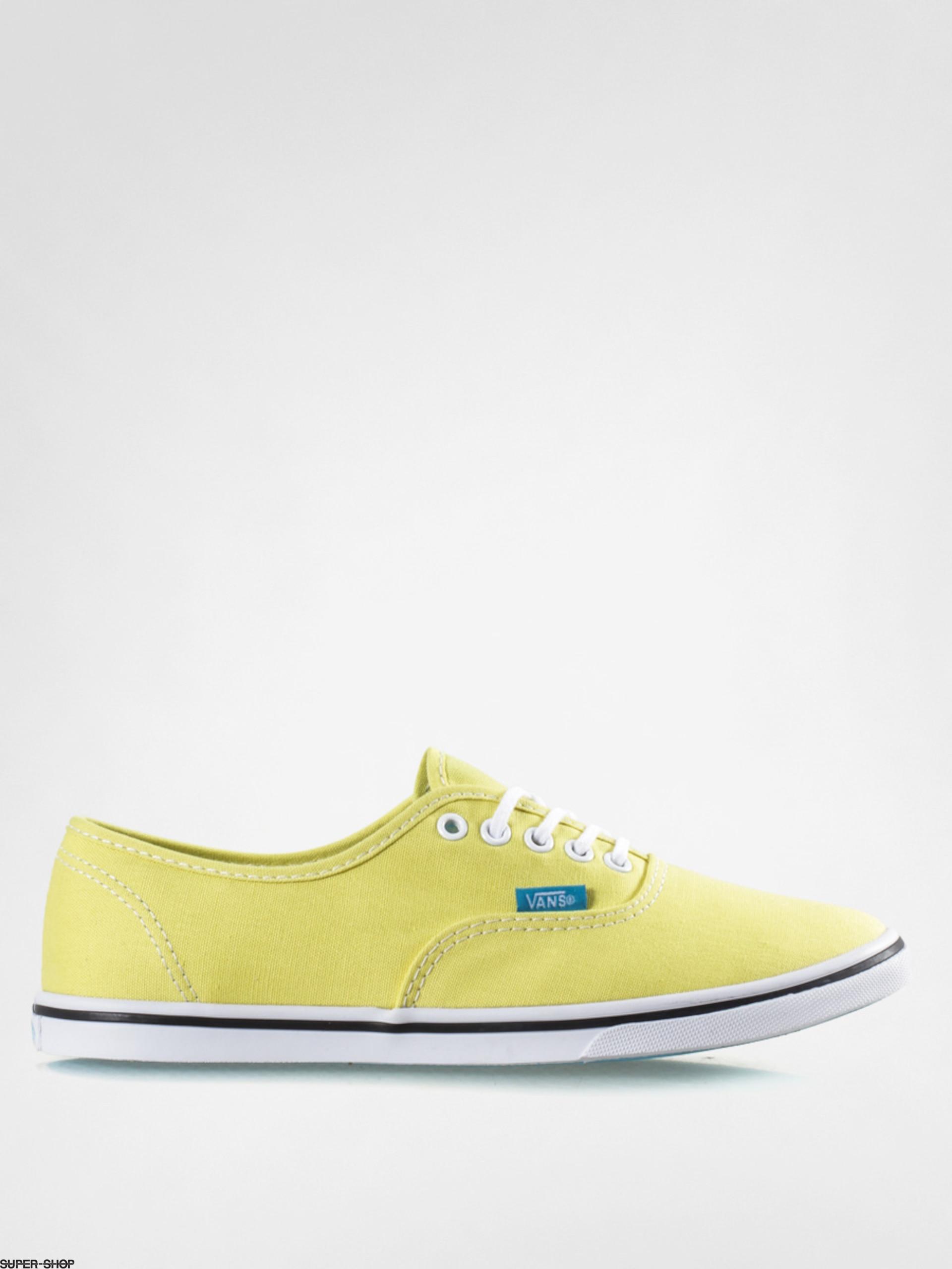 d8b3974cc65698 Vans Shoes Authentic Lo Pro (pop yellow cyan blue)