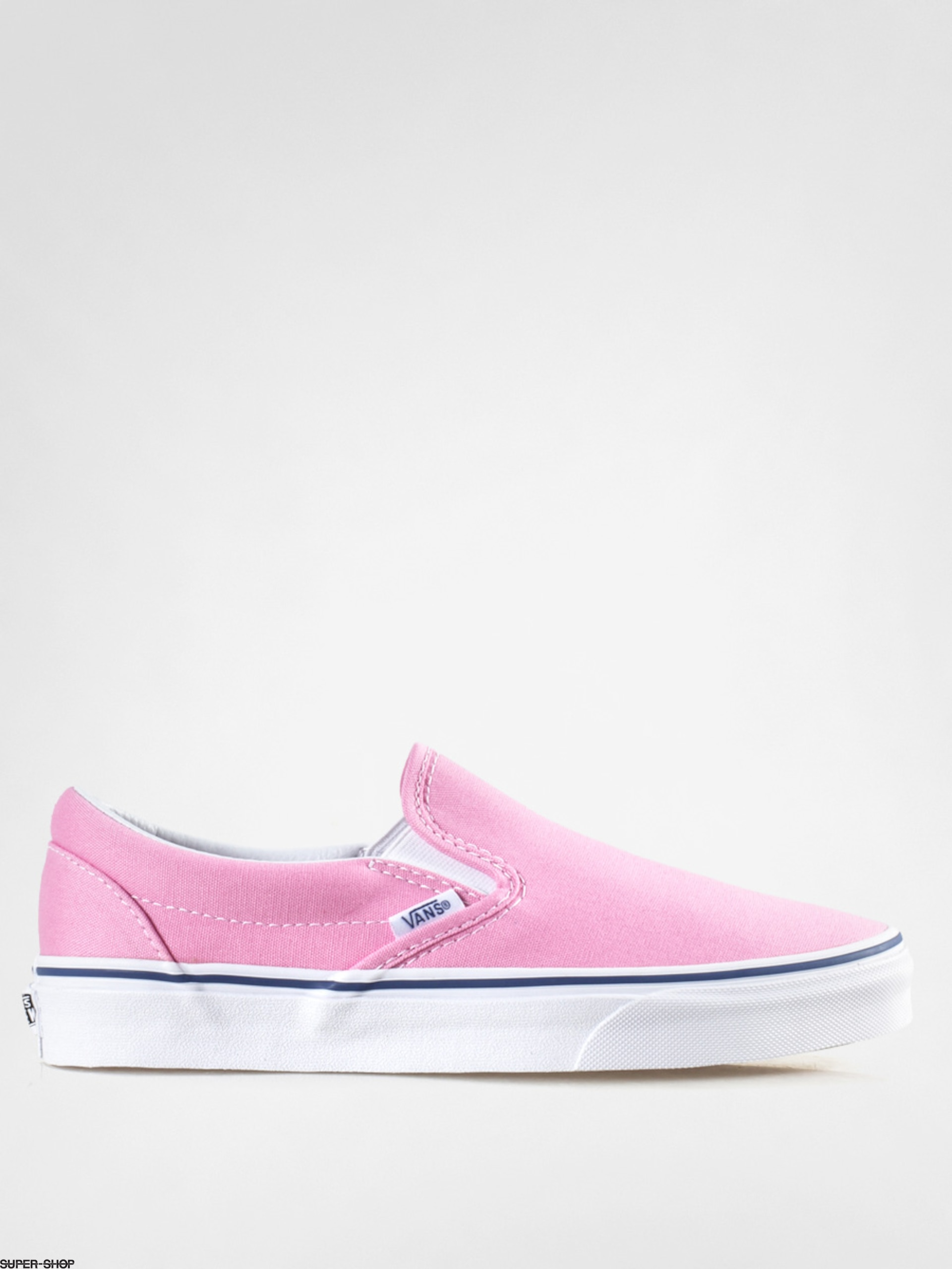 bcdad285a038 Vans Shoes Classic Slip On (prism pink true white)