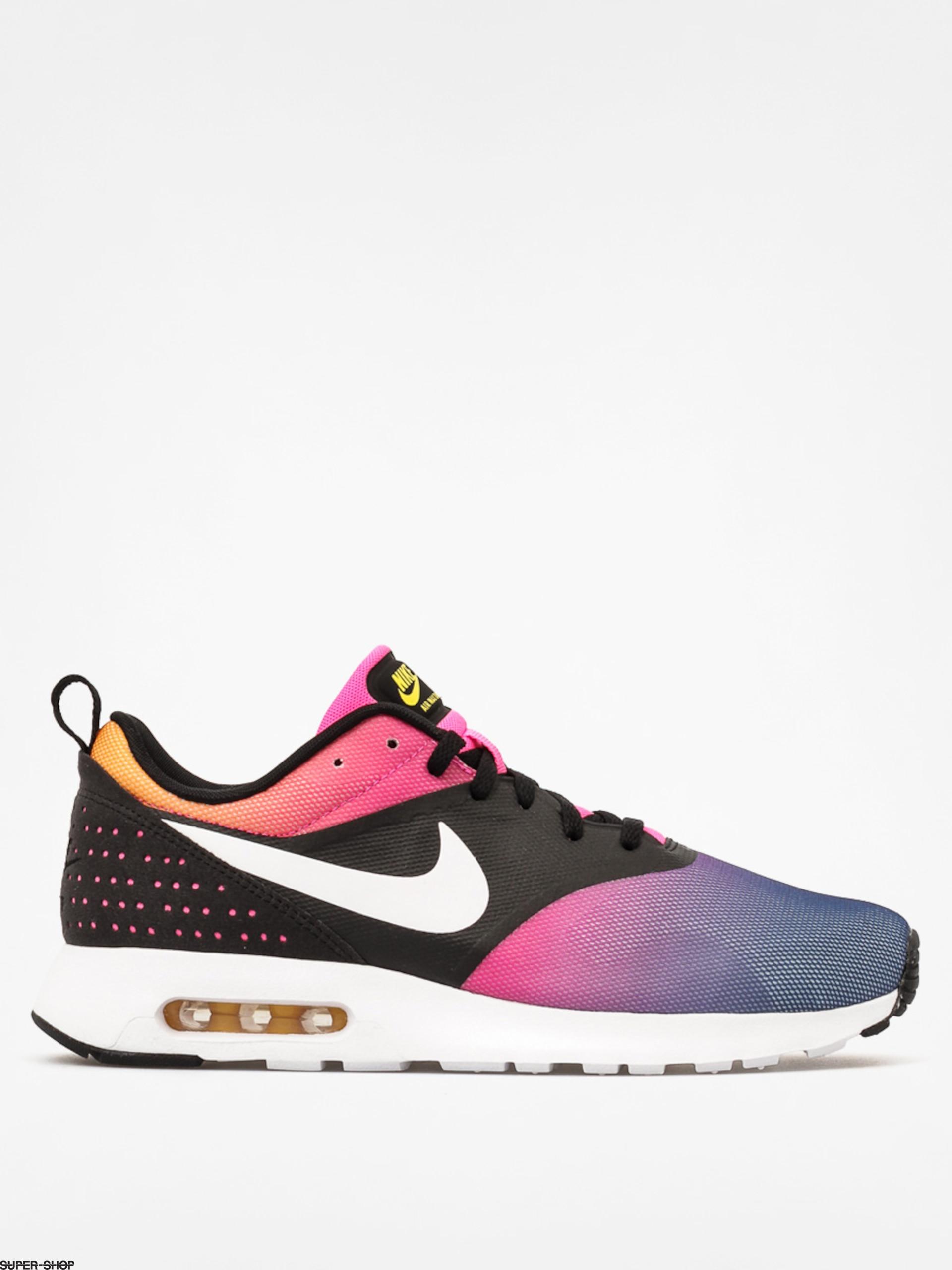 pretty nice 10d56 cbf90 3f20a 22e94  inexpensive nike shoes air max tavas sd black white pink pow  tr yellow e2094 22a8d