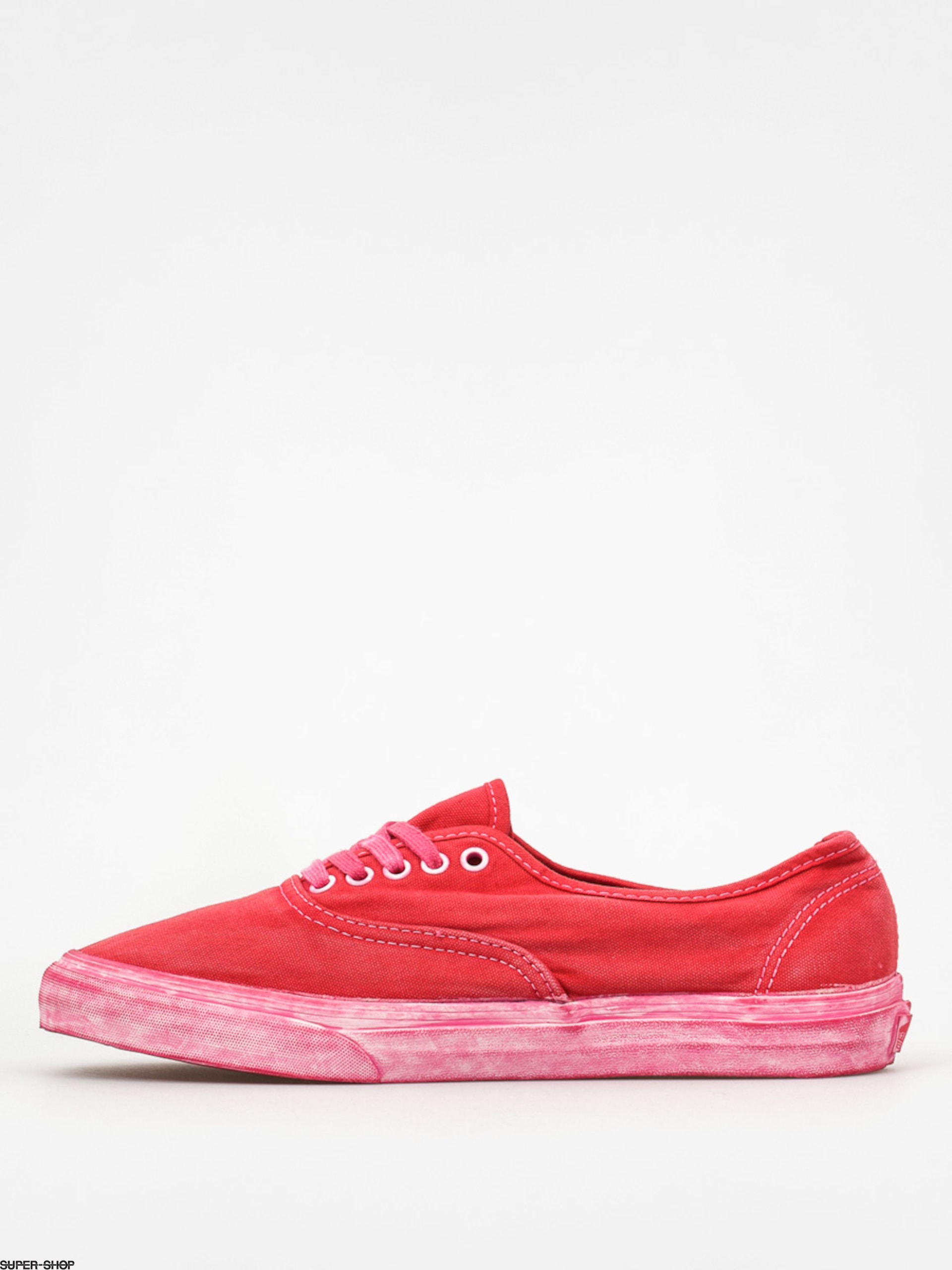 VANS Schuhe AUTHENTIC CA over washed chili pepper, Größe