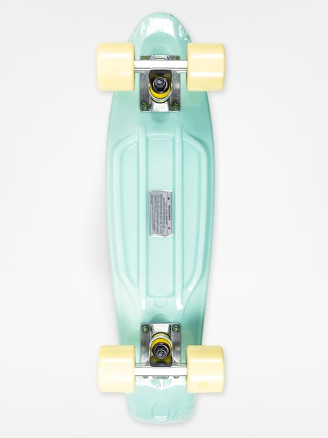 Fish Skateboard Cruiser 02 (mint/yellow/silver)