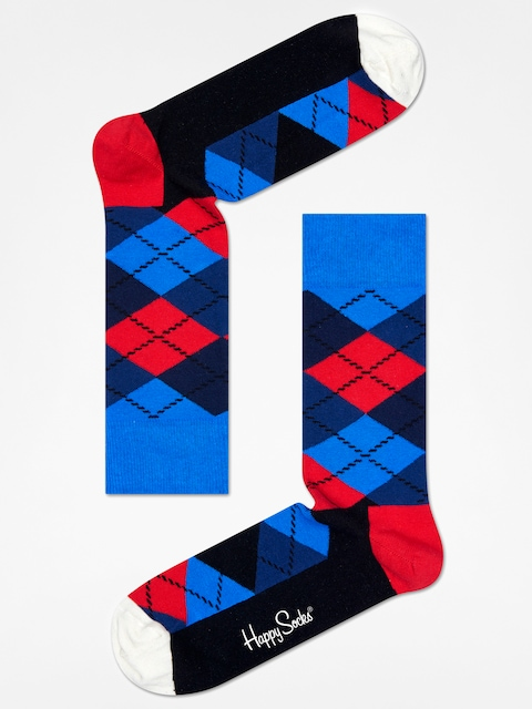 Happy Socks socks Argyle (blue/navy/red/black/white)