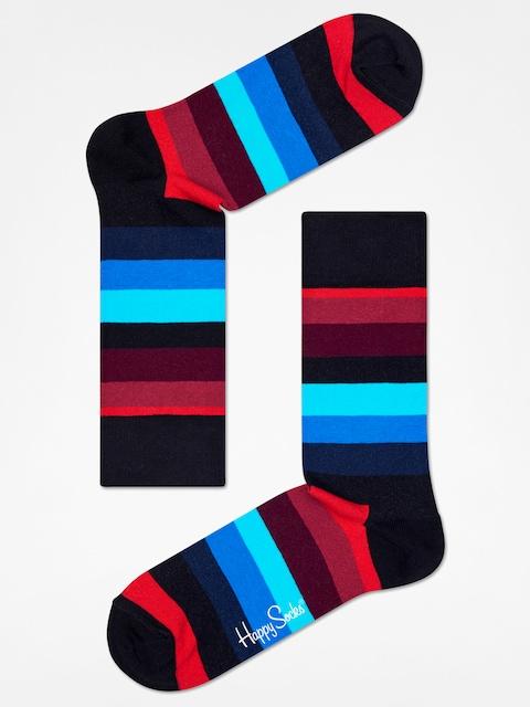 Happy Socks socks Stripe (black/red/blue)
