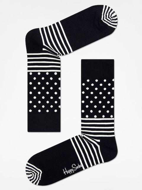 Happy Socks Socken Stripe Dot (black/white)