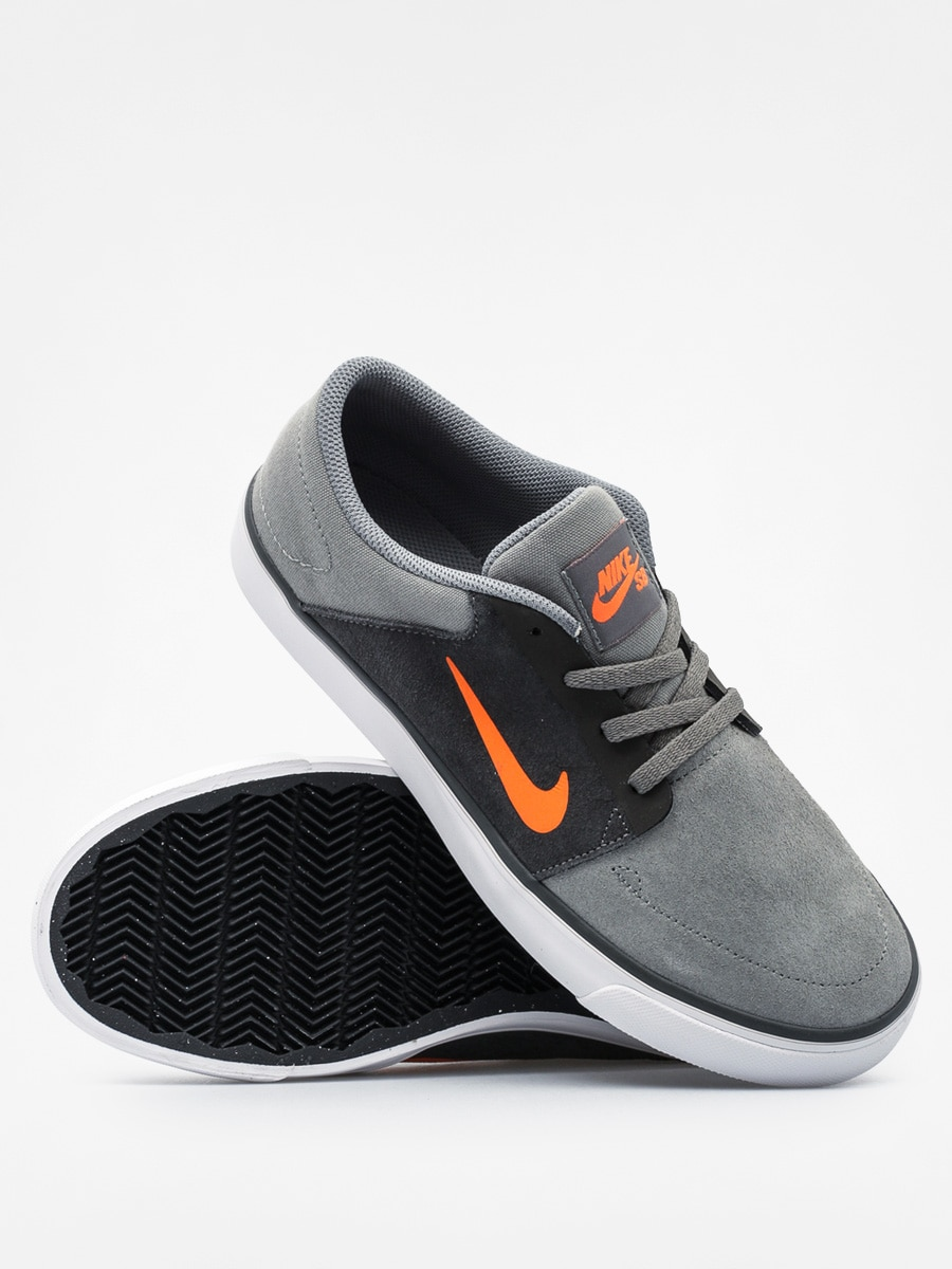 Astrolabio Oral Pornografía  Nike Kids shoes Sb Portmore GS (tumbled grey/ttl orng dp pwtr)