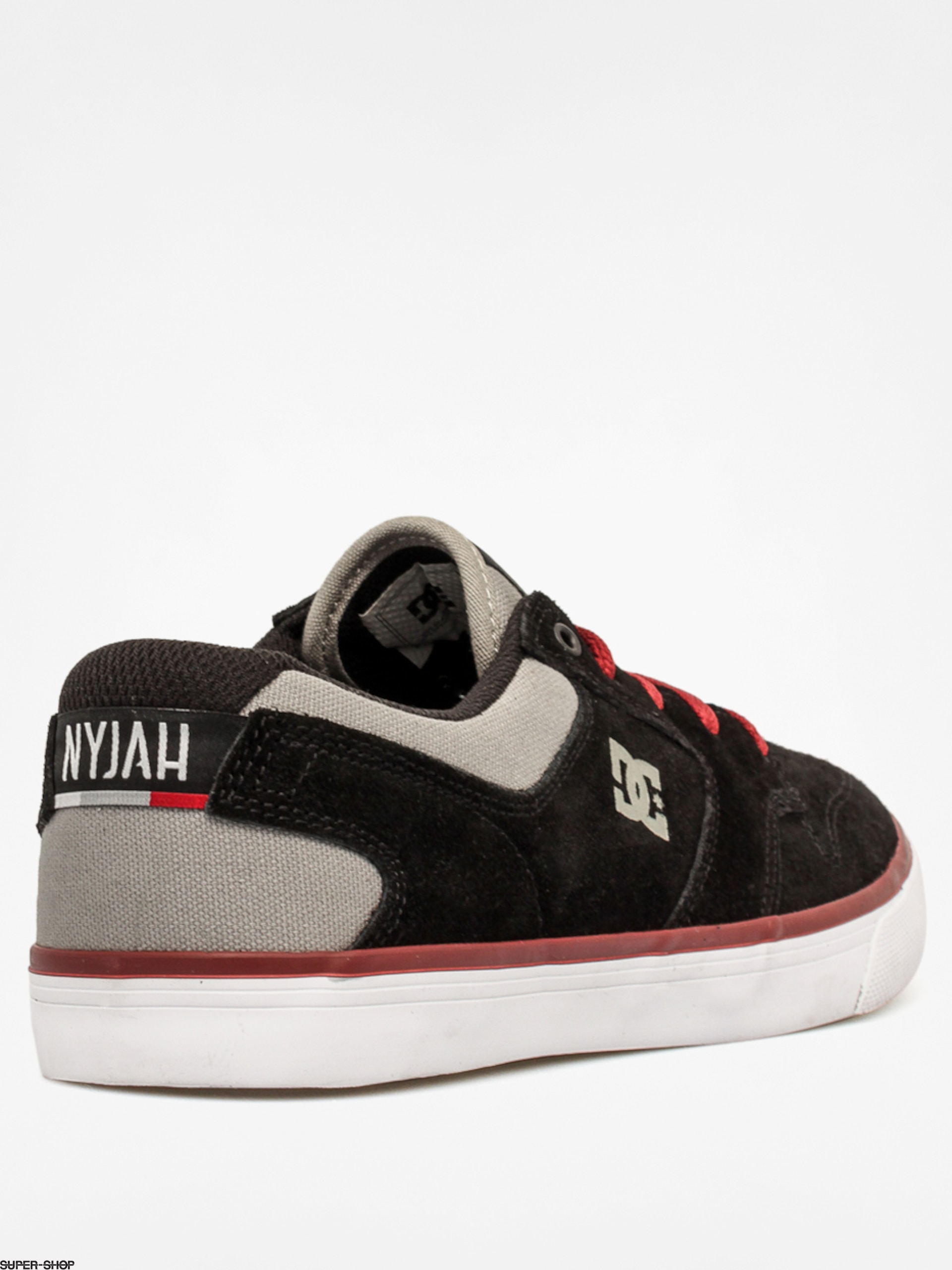 DC Shoes Nyjah Vulc (black/grey/red)