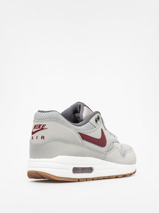 online store 361ce 26e82 ... inexpensive nike shoes air max 1 essential wolf grey team red white  7f5f8 4db1e