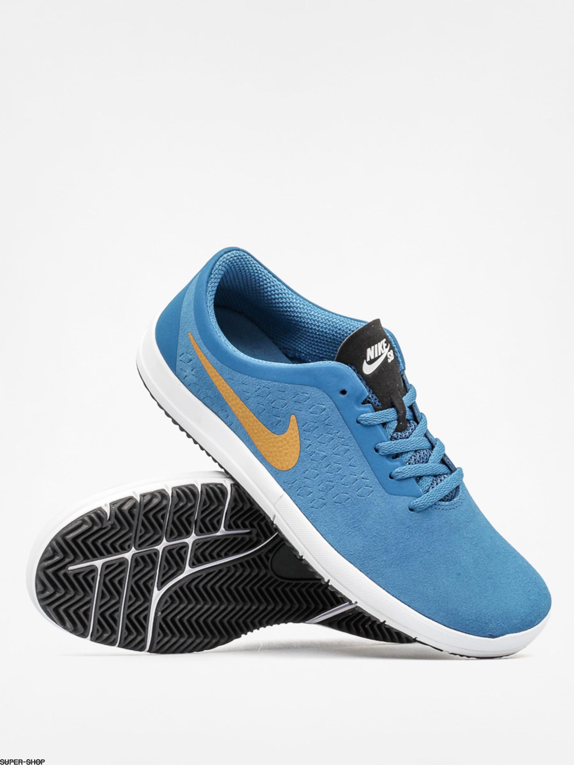 Nike Shoes Free Sb Nano (brigade blue metallic gold) d45f64992