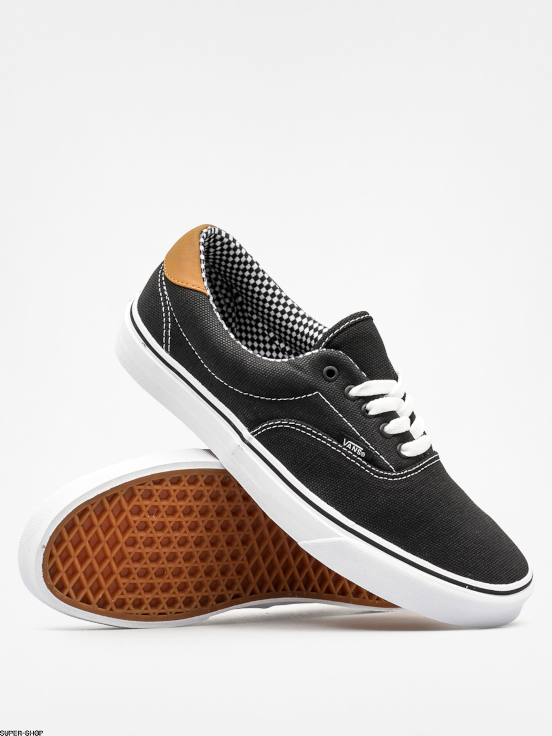 Vans Shoes Era 59 (waxed canvas/black)