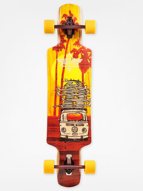 Dusters California Longboard Quiver (yellow/maroon)