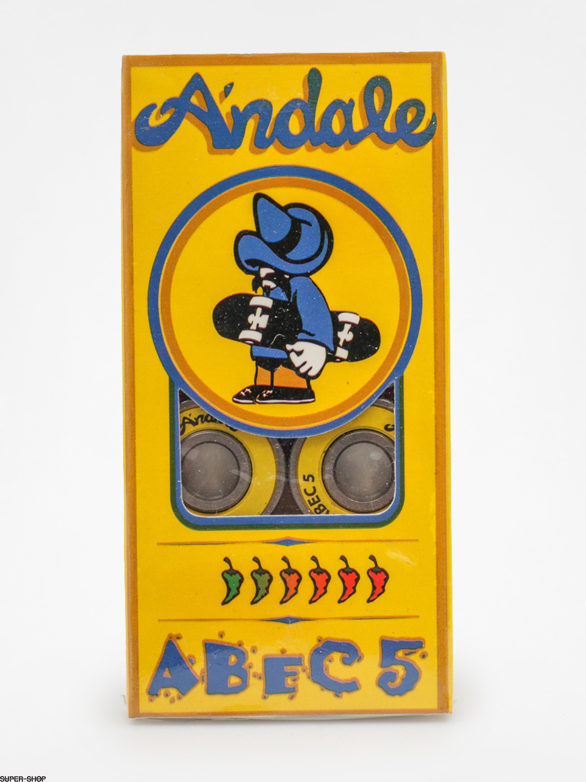 Andale Bearings 01 Abec 5 (yellow)