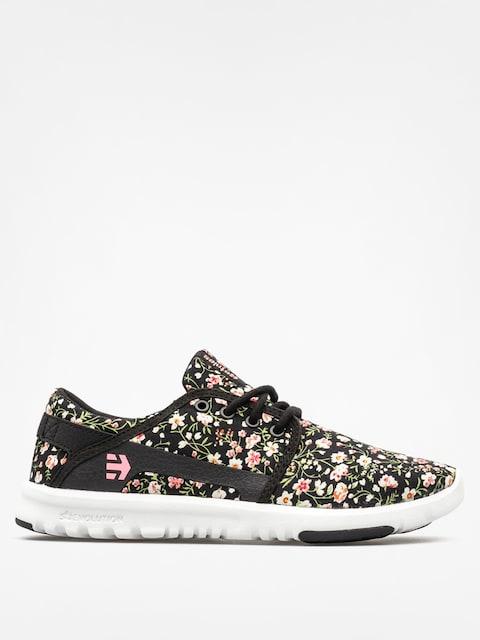 Etnies Schuhe Scout Wmn (black/white/pink)