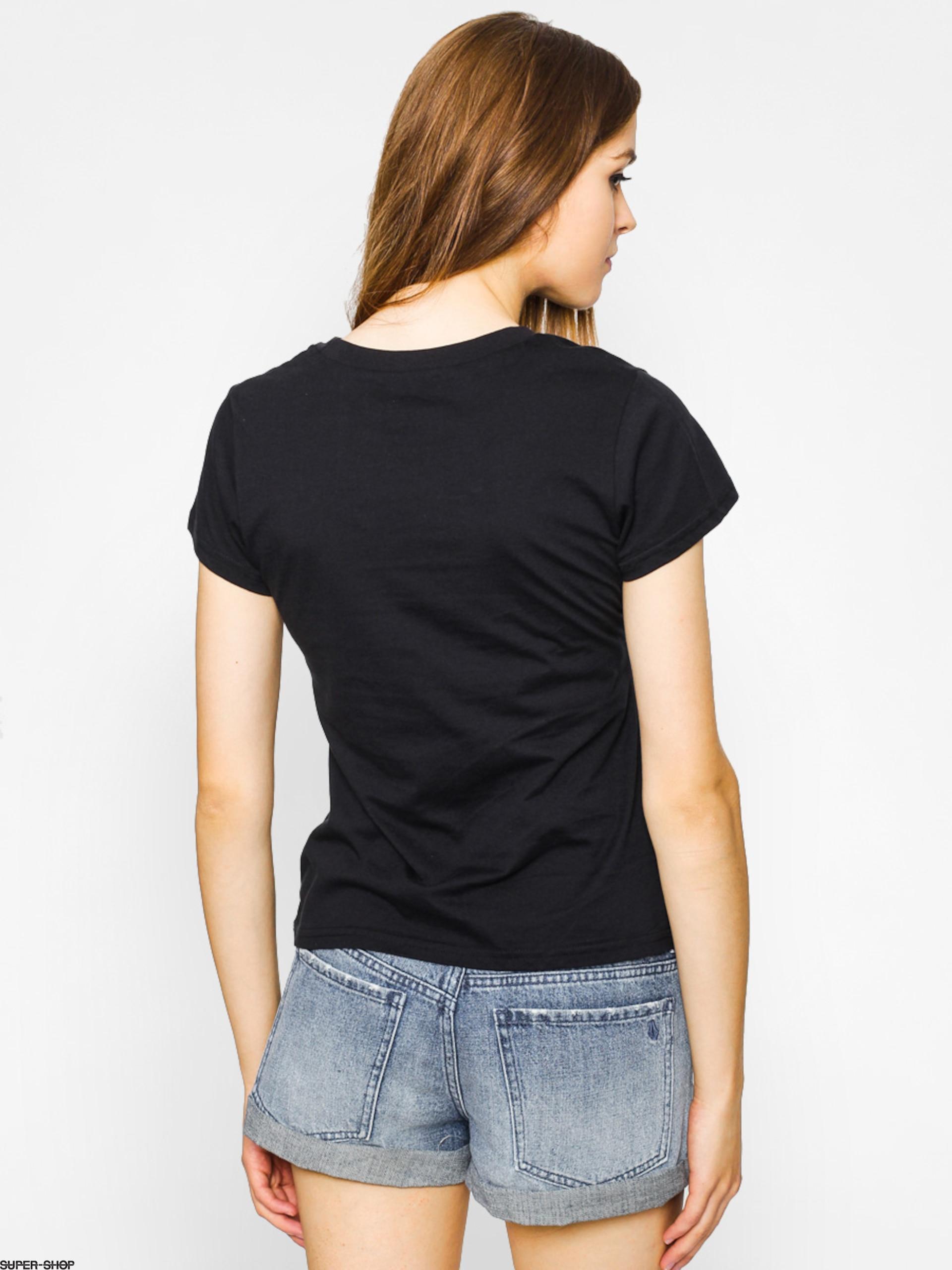 51e359efb5d Stussy T-shirt Wt Fade Baby Tee Wmn (black)