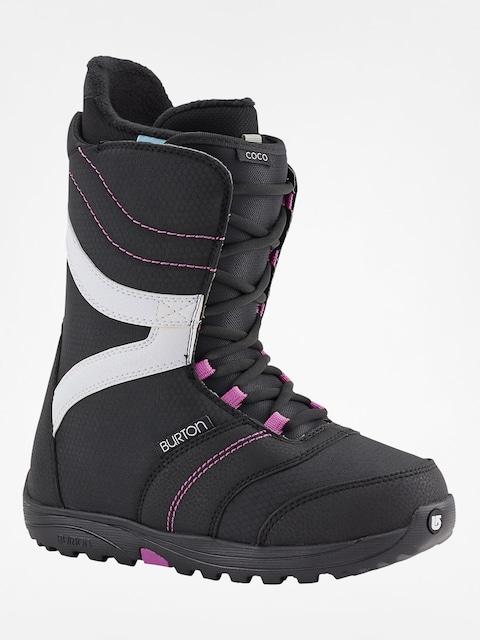 Burton Snowboard Schuhe Coco Wmn (black/purple)