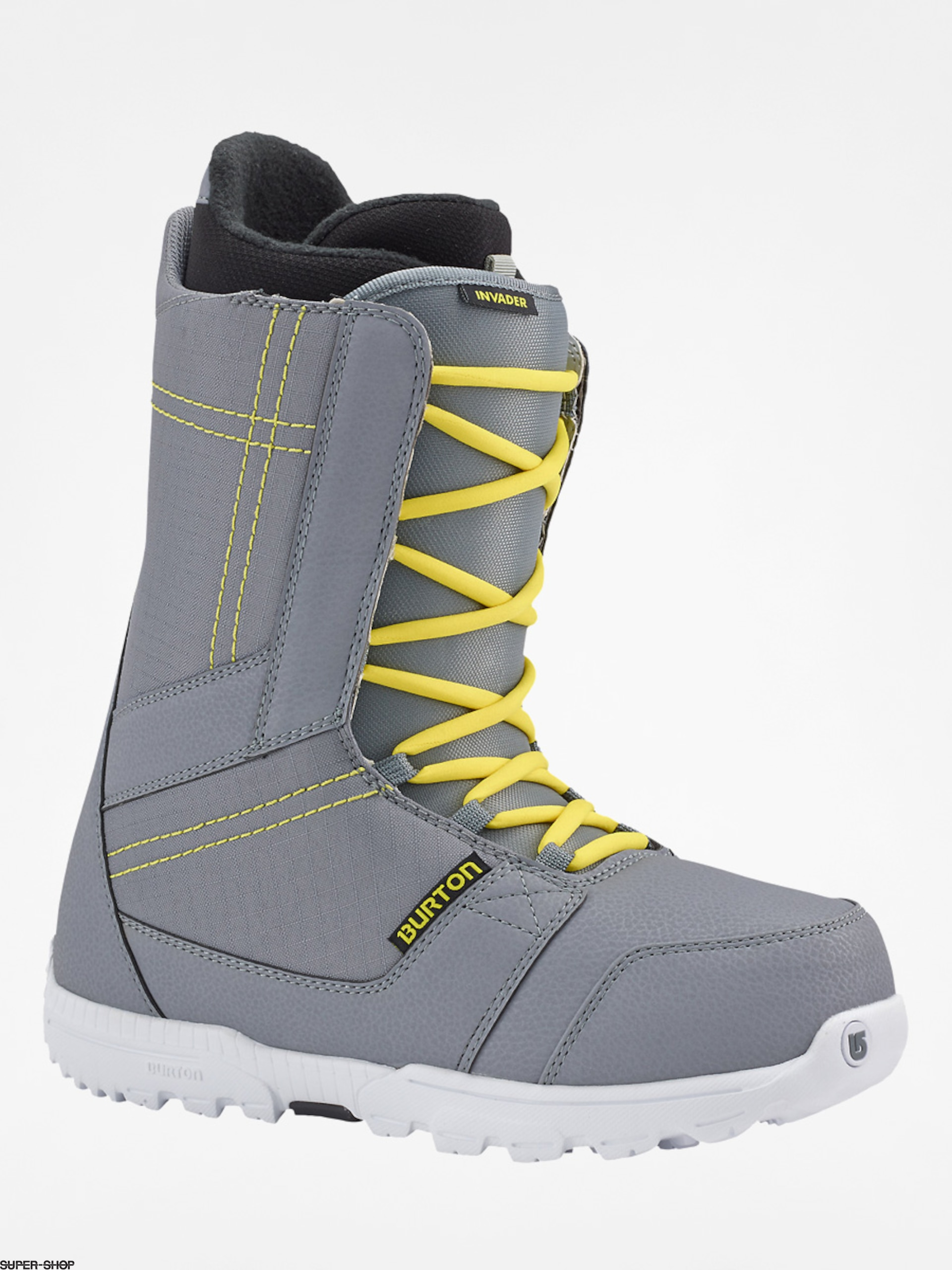Burton Snowboard boots Invader (gray/yellow)