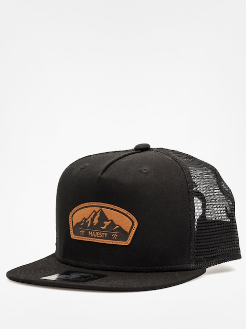 Majesty Cap Starter Lumber Trucker ZD (black/brown)
