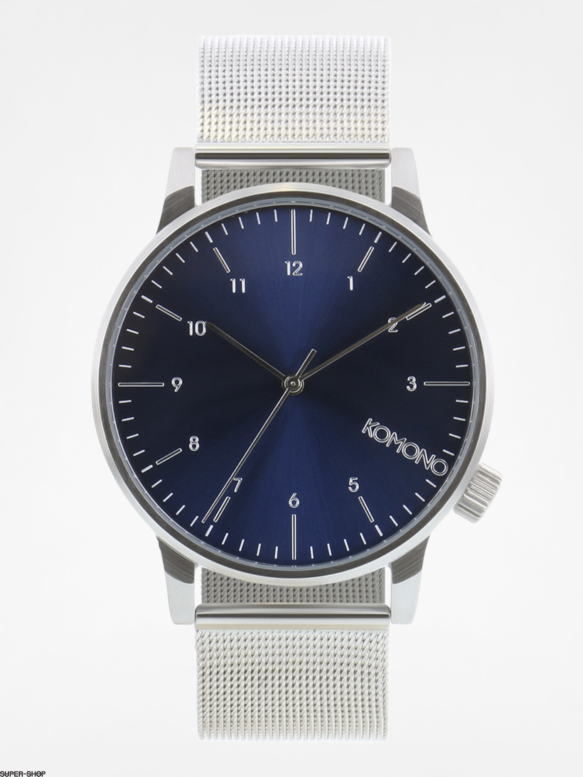 Komono Watch Winstone Royale (silver blue)