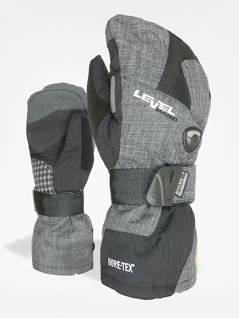 Level Gloves Half Pipe Mitt Gore Tex (anthracite)
