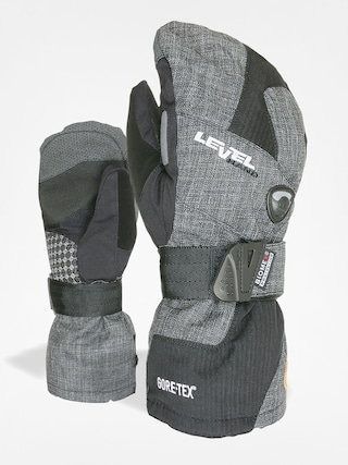 Level Gloves Half Pipe Mitt Gore Tex (anthracite)