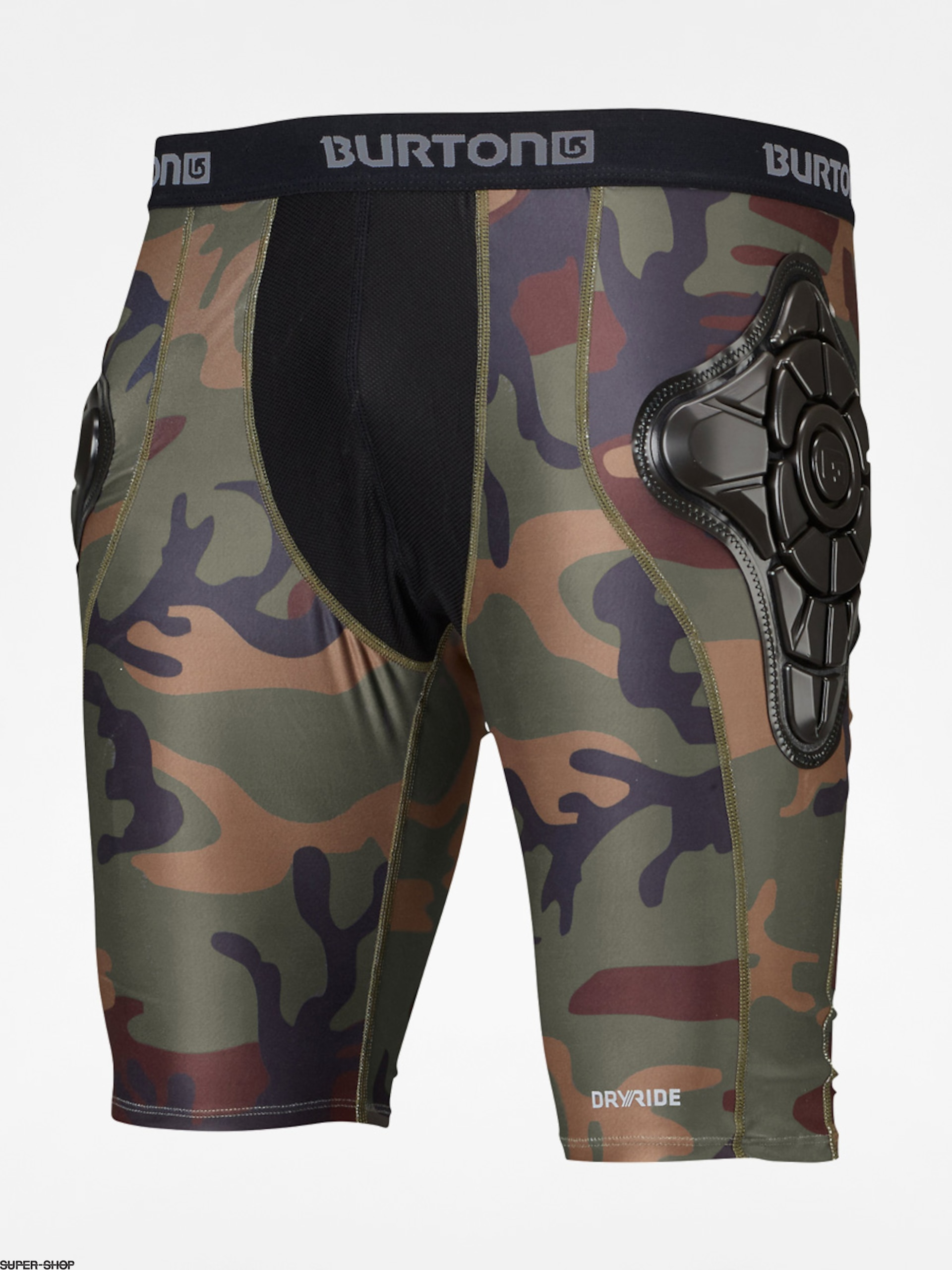 Burton Active leggings Total Imp Short (highland camo)