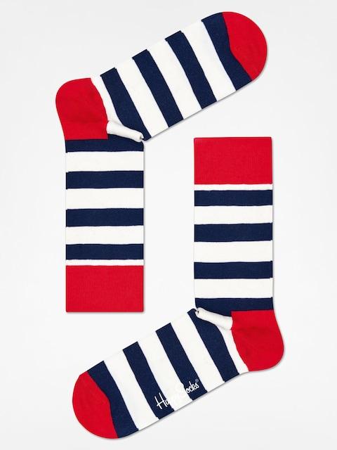 Happy Socks Socks Stripe (red/navy/crem)