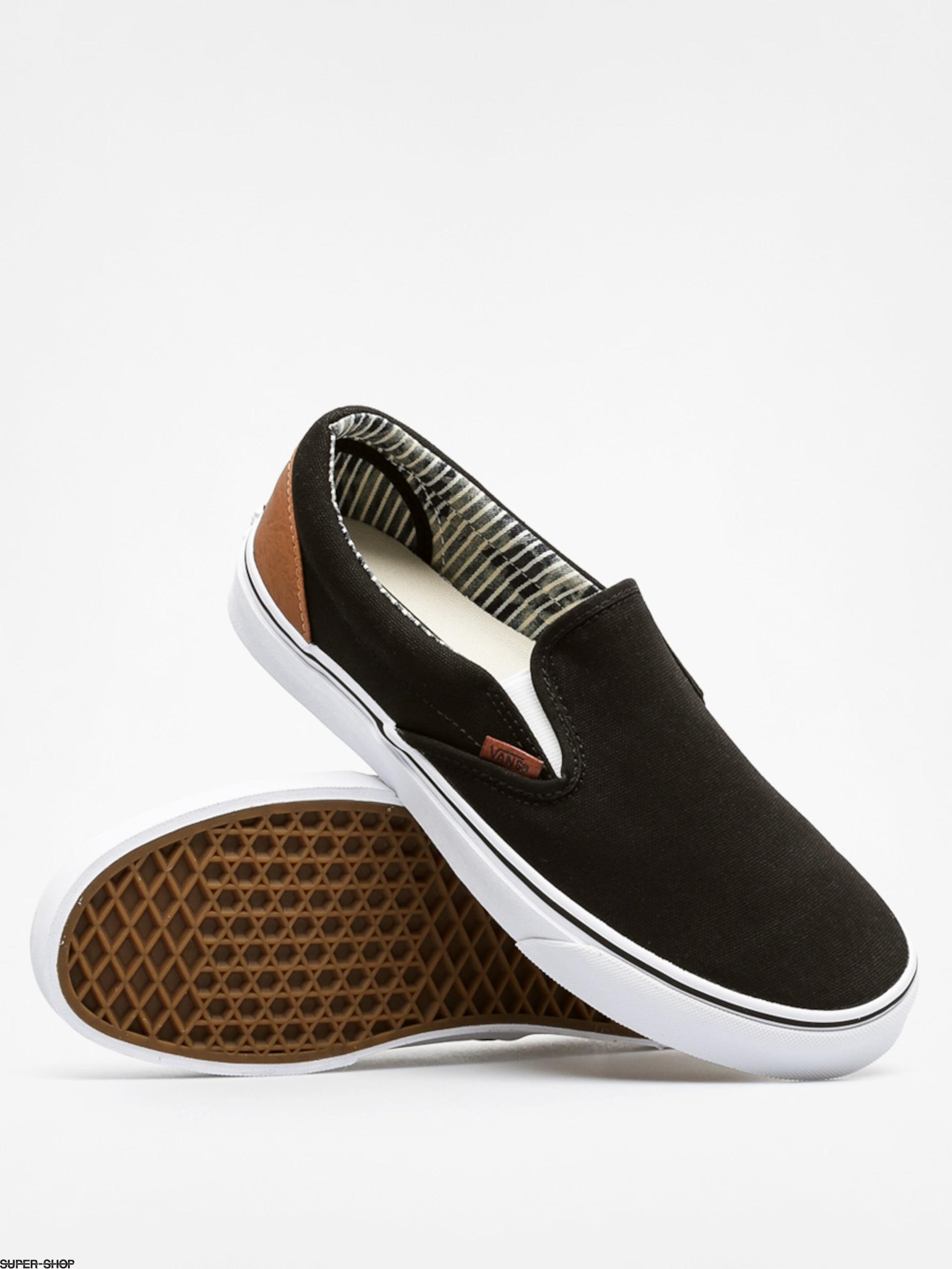 Vans Shoes Classic Slip On (c\u0026l/black