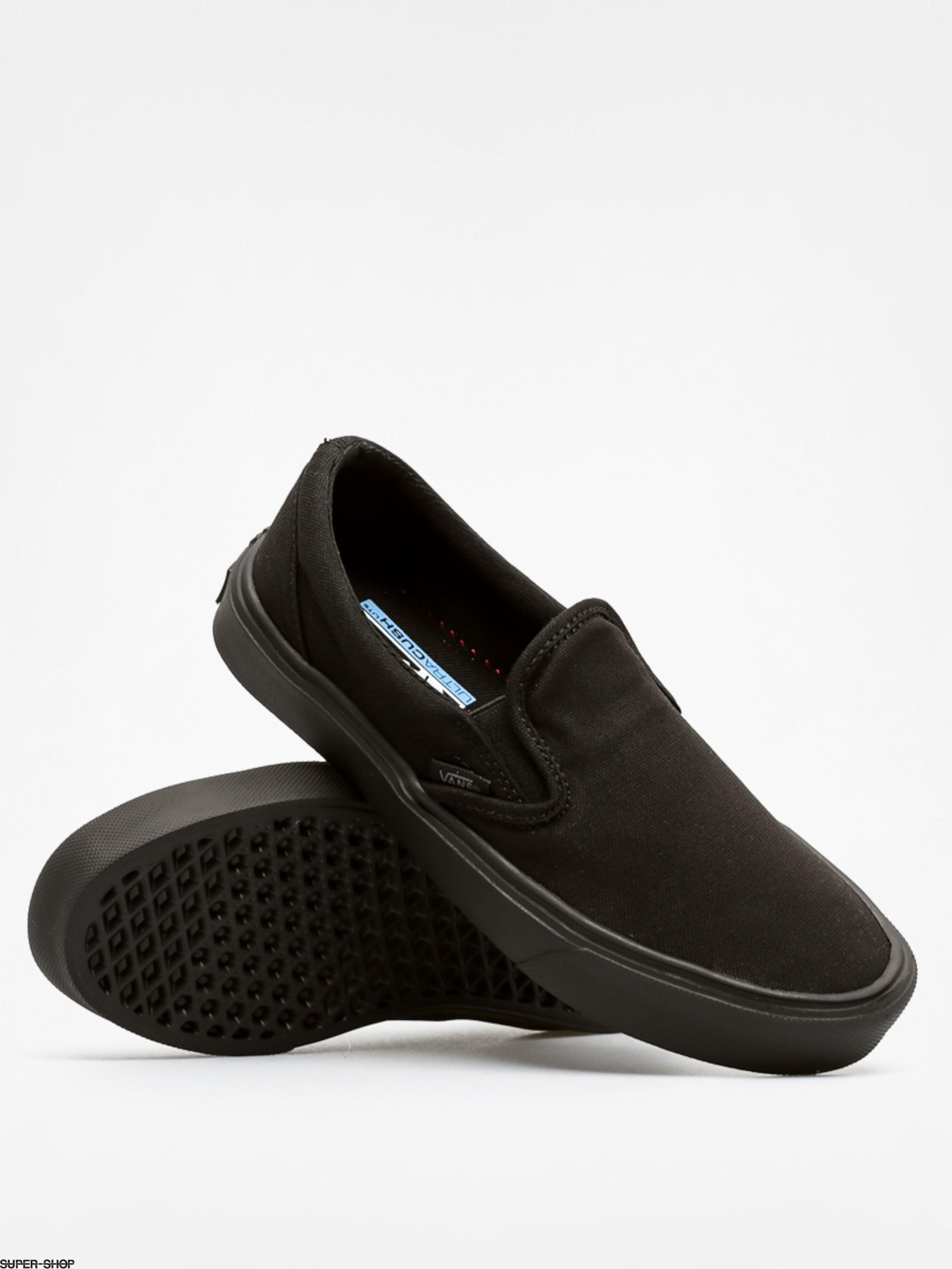 e872dca1d978 Vans Shoes Slip On Lite (canvas black black)