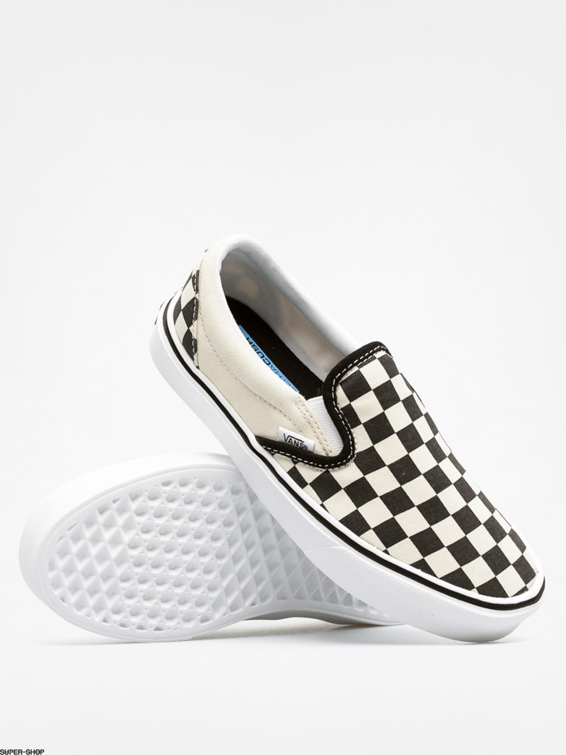 8f8e3c60a6 Vans Shoes Slip On Lite (checkerboard black classic white)