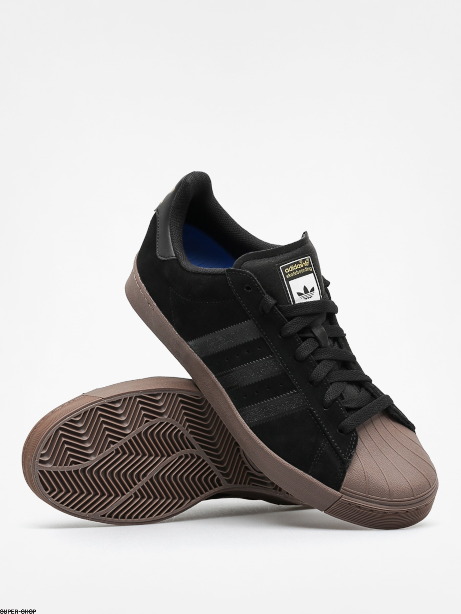 Cheap Adidas Superstar Vulc ADV Shoes Black Cheap Adidas Asia