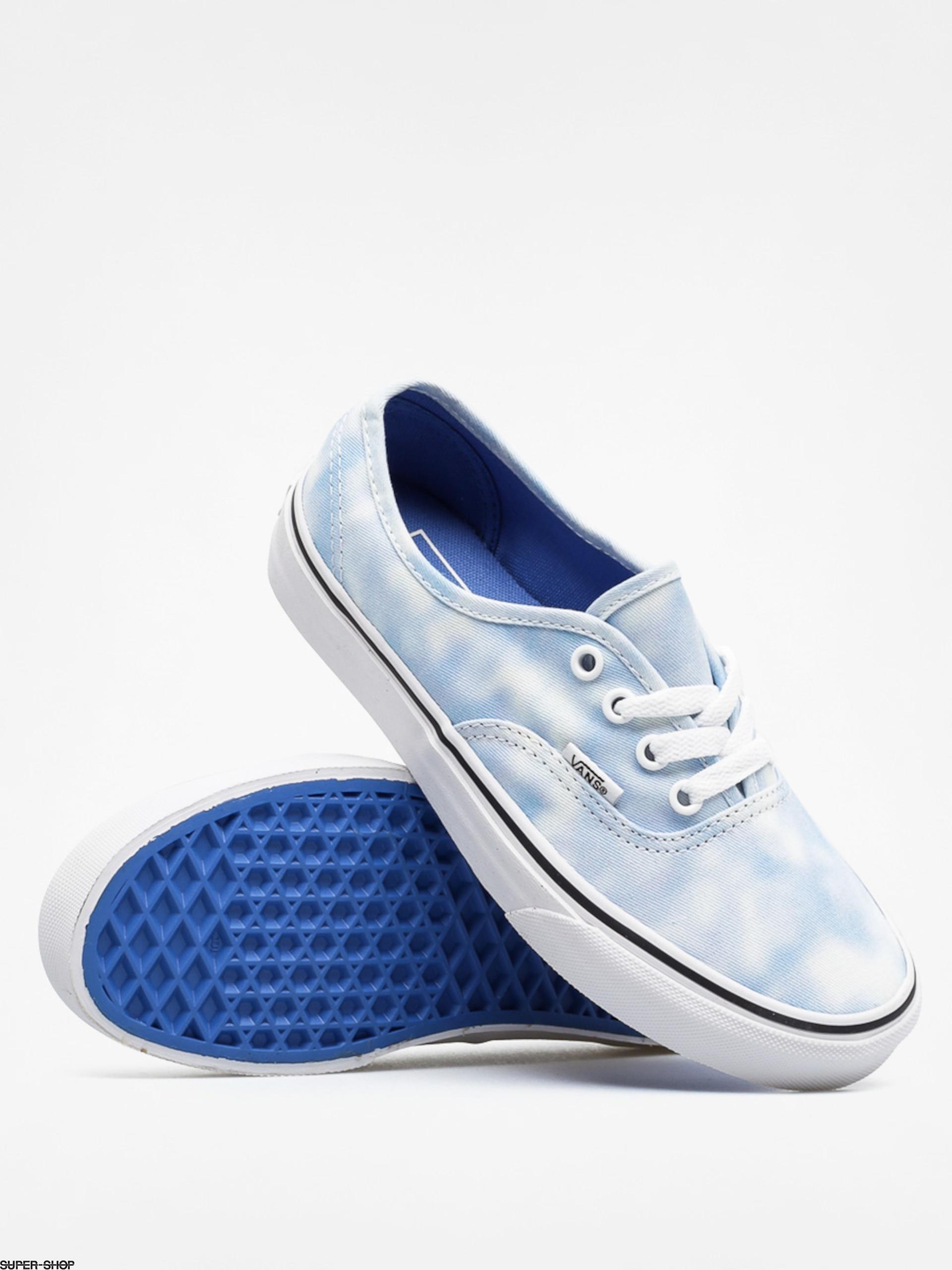 Details about  /Vans Women/'s Authentic Tie Dye Palace Blue Skate Shoes Size 7//7.5 NWB