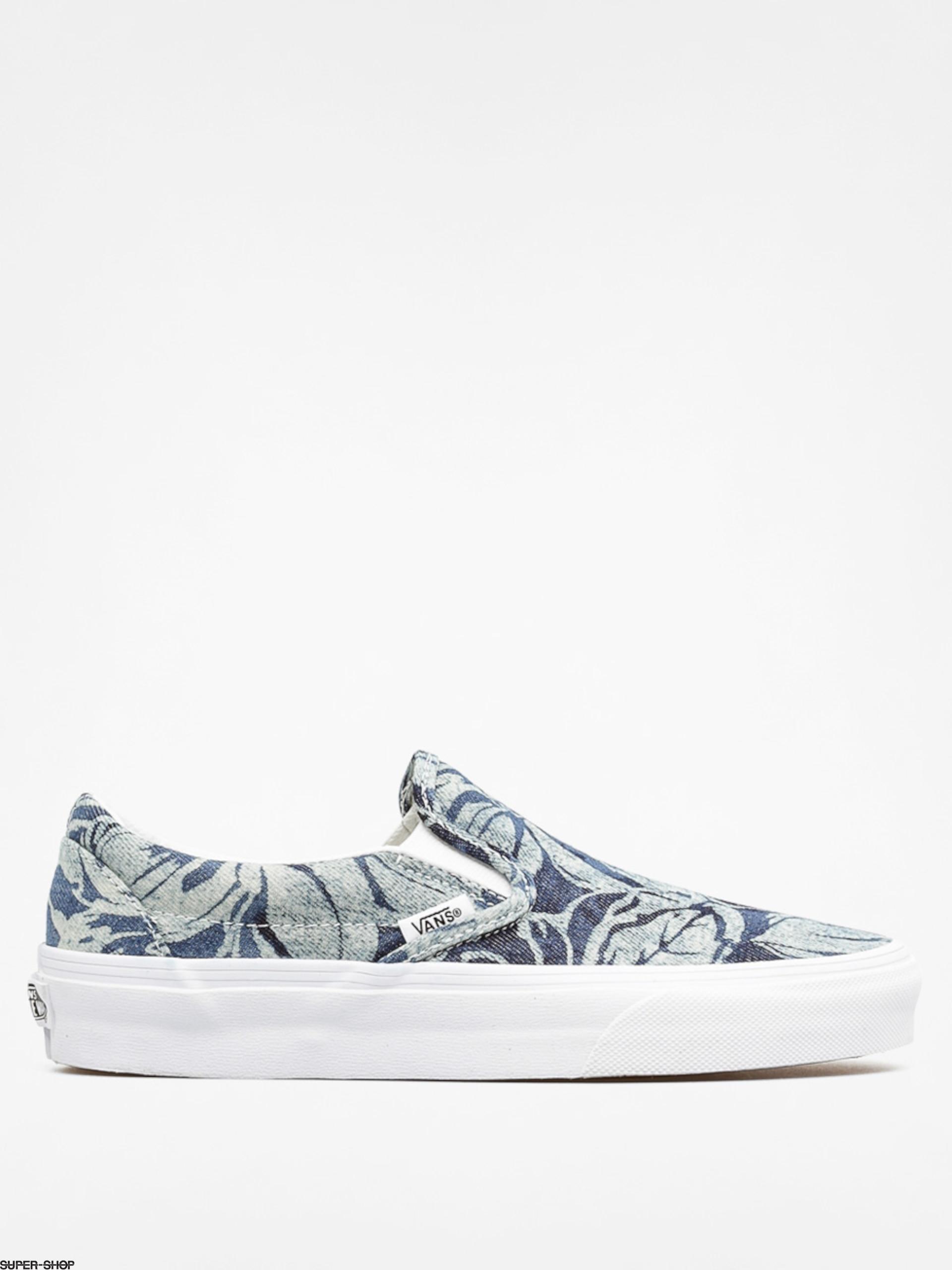 Vans Shoes Classic Slip On (indigo