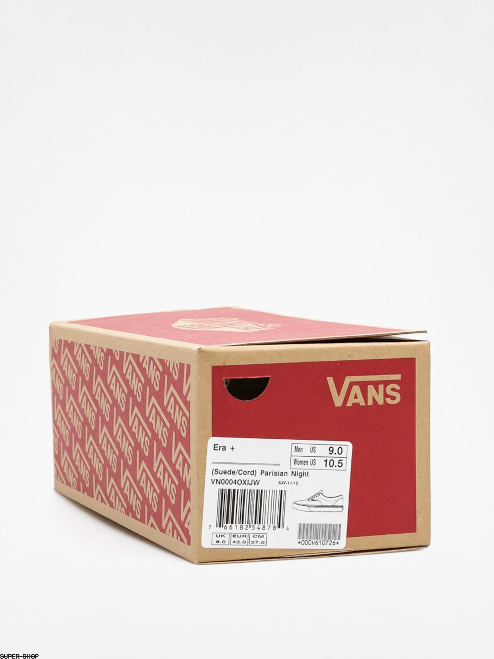 a1c2064678a Vans Shoes Era + (suede cord parisan night)