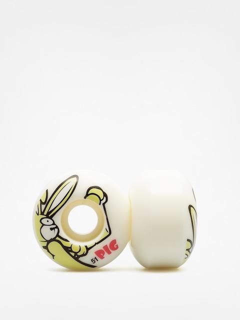 Pig Rollen Rabbit (white/yellow)