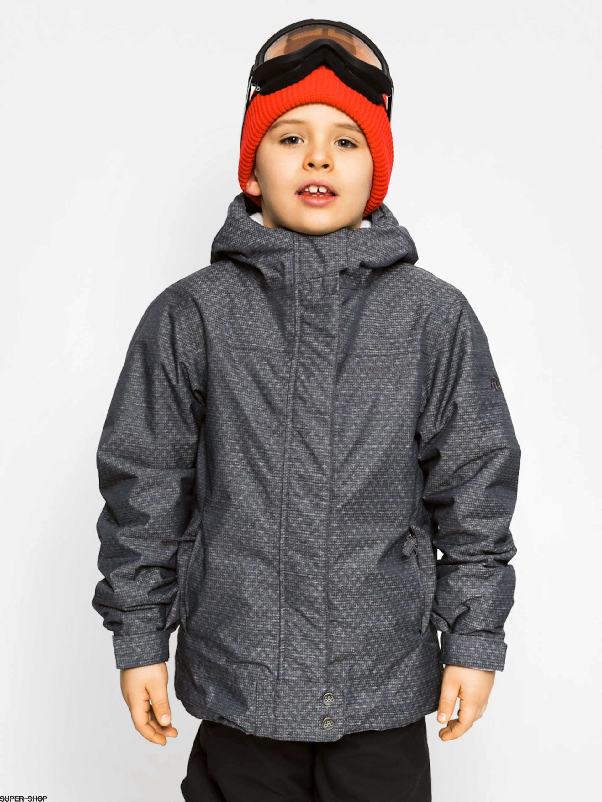 f29c76078 686 girl s Snowboard Jacket Smarty Chole (gunmetal)