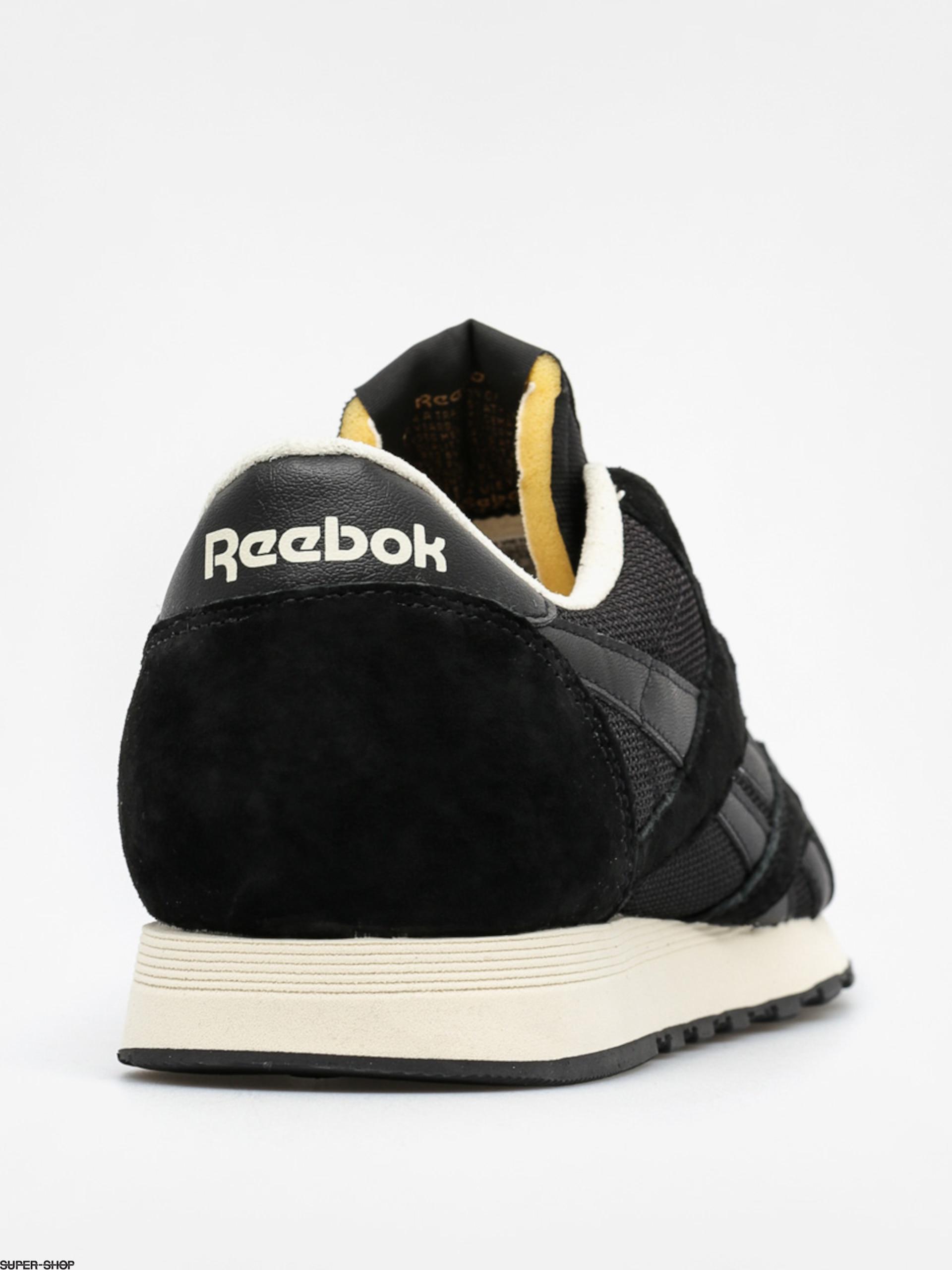 8d66ea16dfc4f Reebok Sneakers Classic Nylon P (black paper white cooper)
