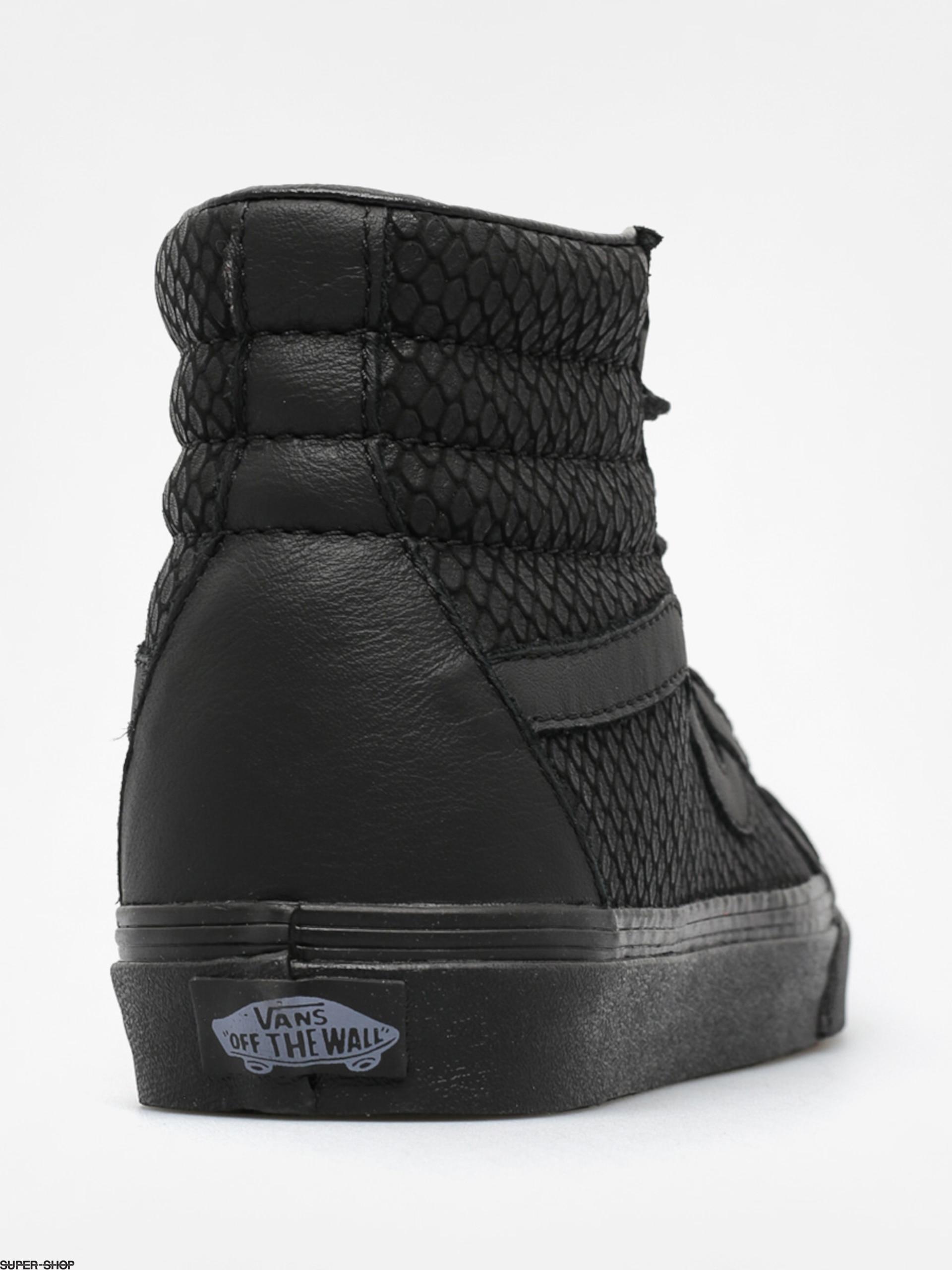 51ef489a0e02 Vans Shoes Sk8 Hi Reissue + (snake leather/black)