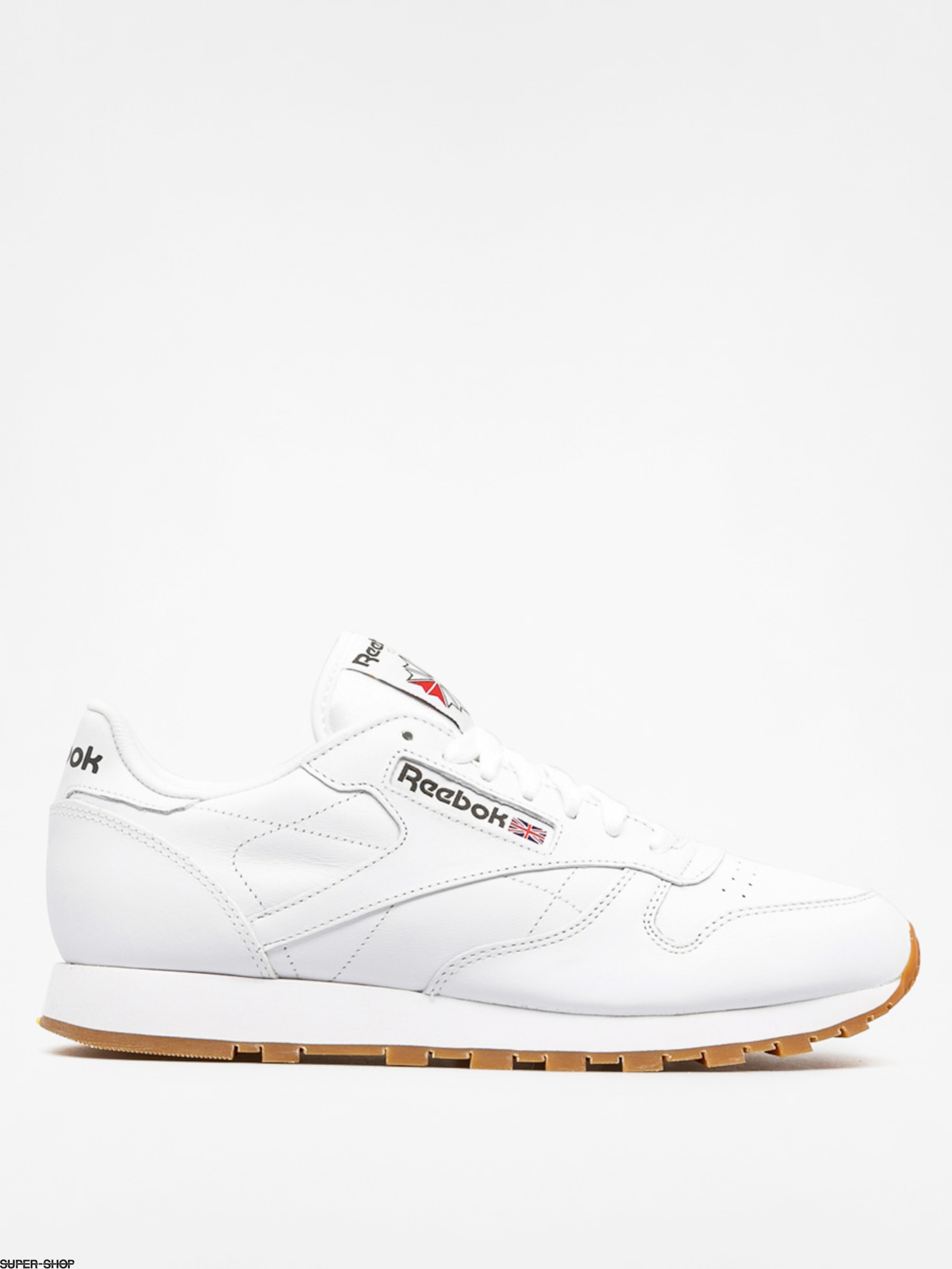 Reebok Sneakers Classic Leather (white/gum)