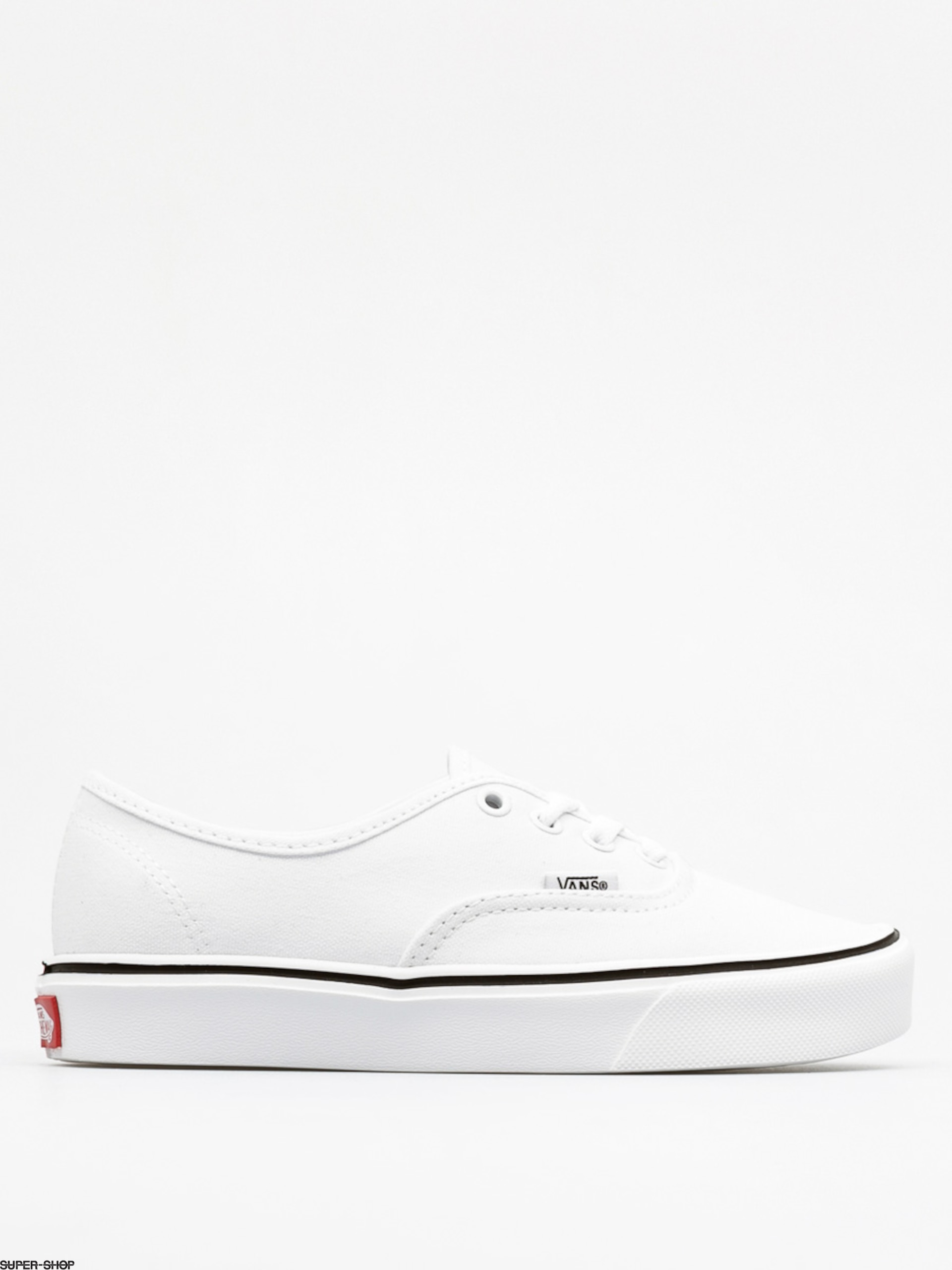 2b5db4cbdf3703 Vans Shoes Authentic Lite + (canvas true white)