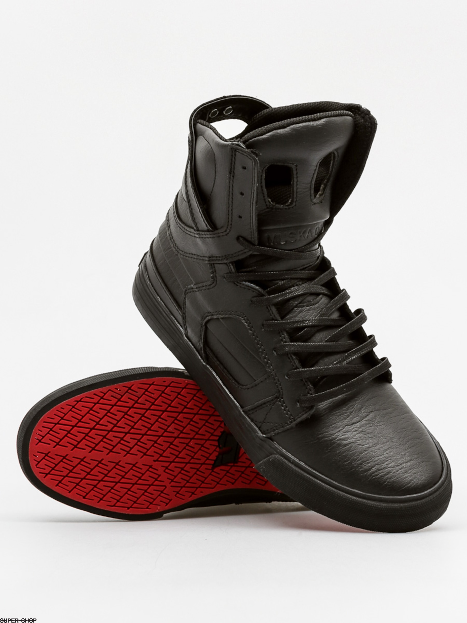 Supra Shoes Skytop II (black/black red)