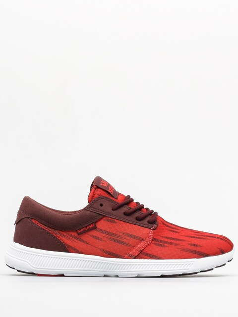 Supra Sneakers Hammer Run (red/burgundy white)